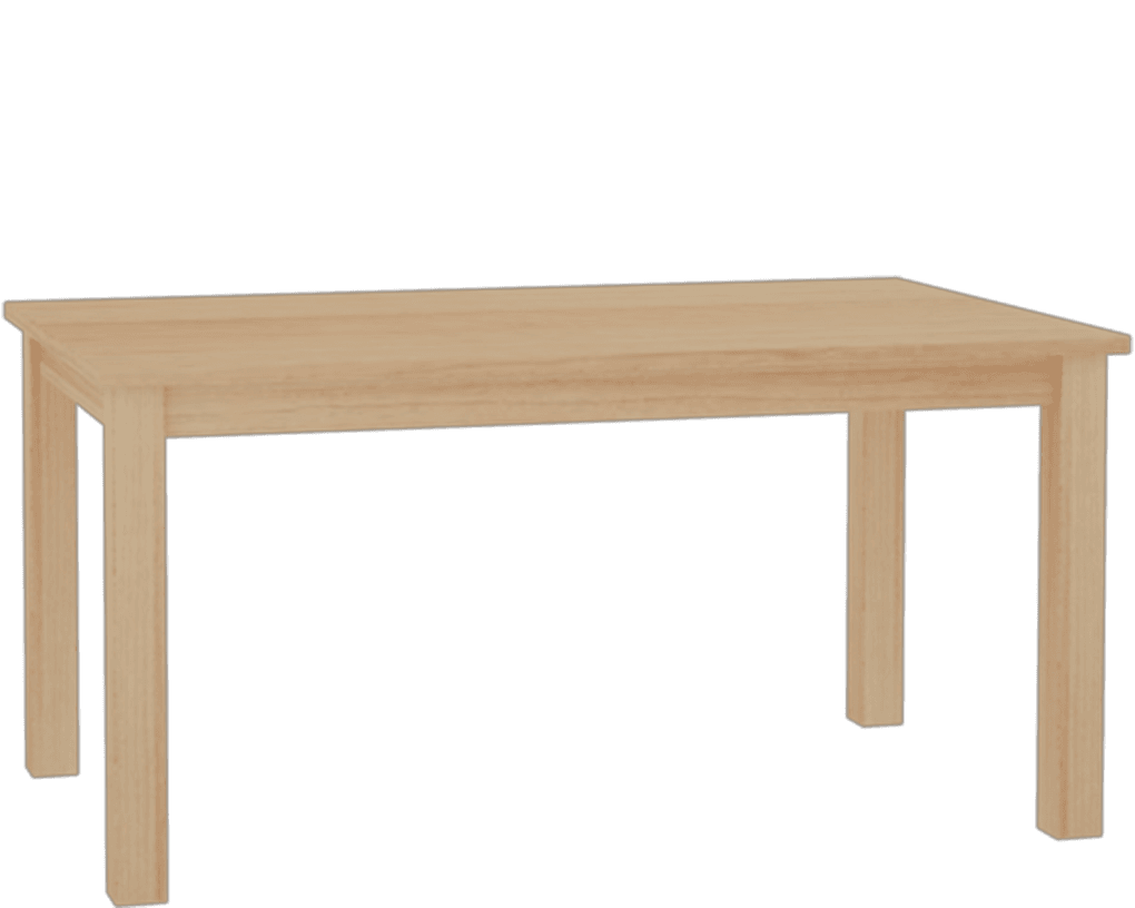 4 Posted Rectangle Table
