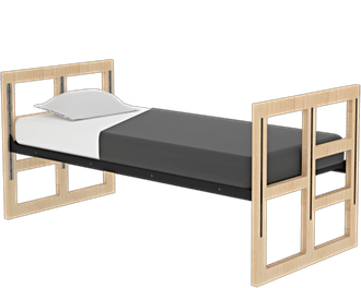 Evolve Single Bed