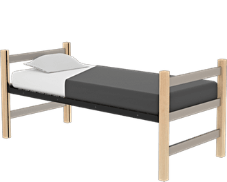 Maxwell Twin Bed