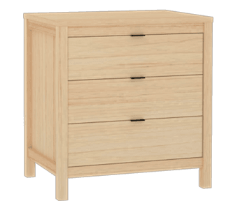 Westwood 3 Drawer Chest