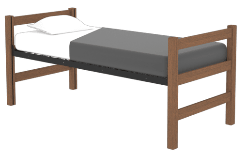 Tool-Free-Bed-Chestnut