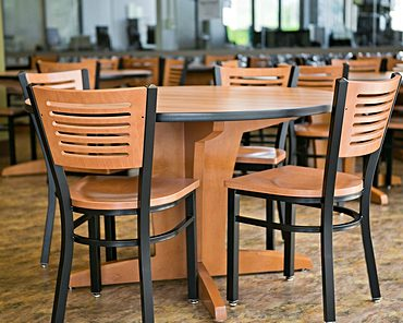 Melissa Anne Chairs and Sherwood Dining Tables