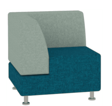 Lucy Low Back Corner Lounge Chair