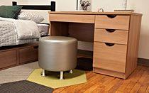 Shaker Desk-BBF-Half-Moon-Pull