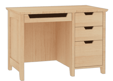 Shaker Desk With Bbf