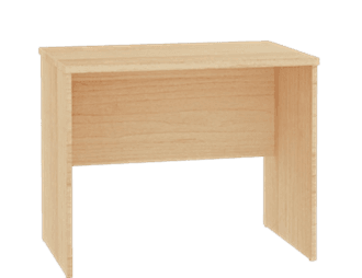 Essentials Slab Leg Desk