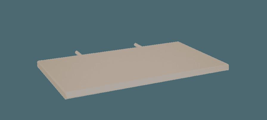 Alcove Metal Bed Shelf
