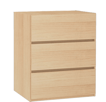 Alcove 3 Drawer Chest