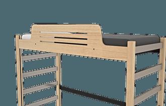 Horizontal Slats Guardrail