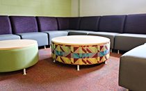 Lucy Sectional with Lucy Ottoman