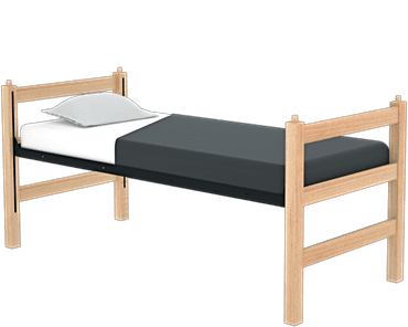 Breton Single Bed