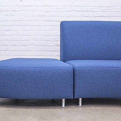 Lucy Curved Ottoman Lifestyle Image 2