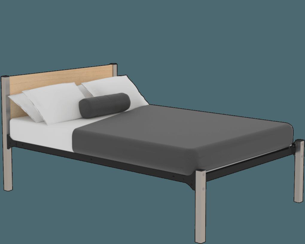 Maxwell Fixed Beds Steel Wood