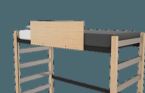 Bolt On Wood Guardrail