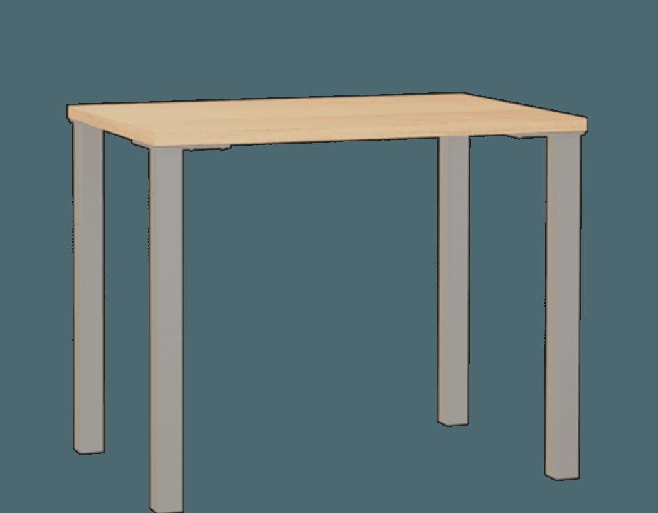 Essentials Metal Leg Desk