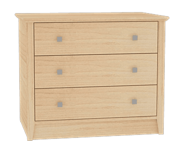 Cosmo 3 Drawer Chest